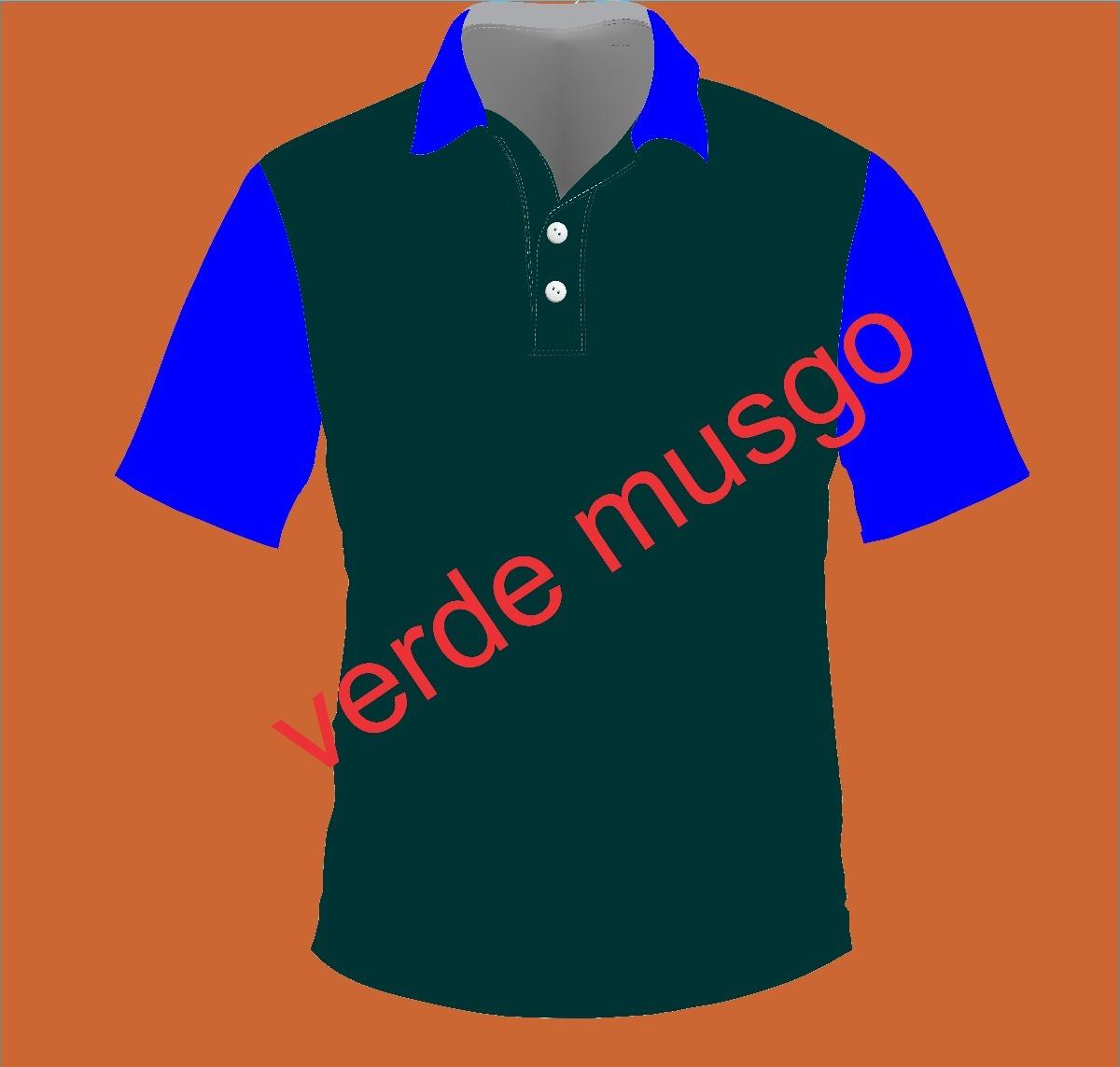 e1b20012e7 10 Camiseta Polo Personalizada Uniforme - R  344