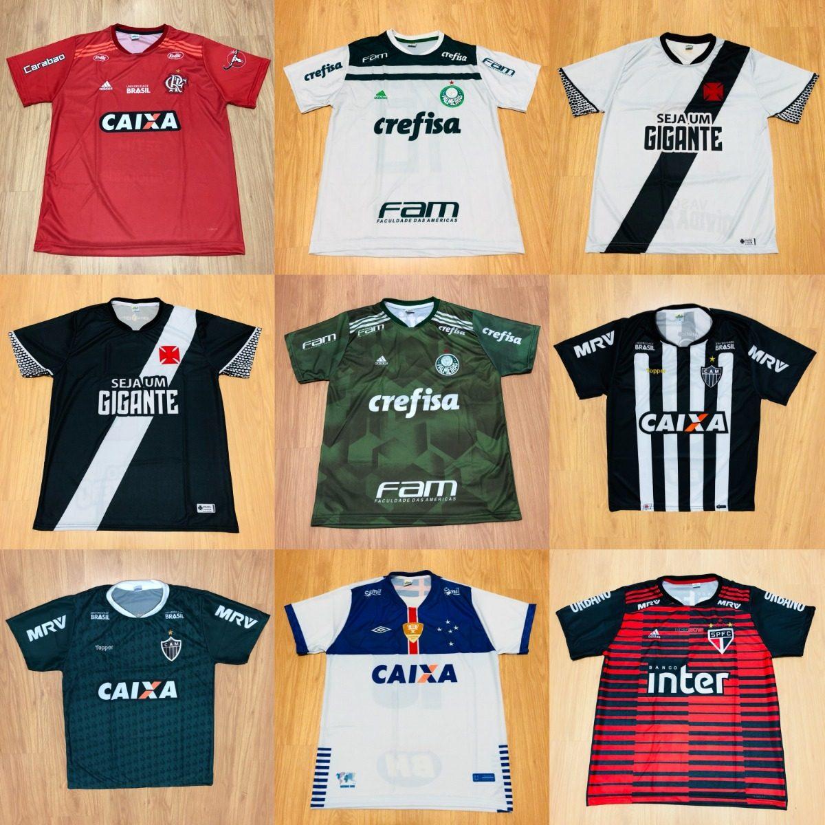 10 Camisetas De Time Atacado Futebol 100 Modelos Barato 2018 - R ... df34ab5430953