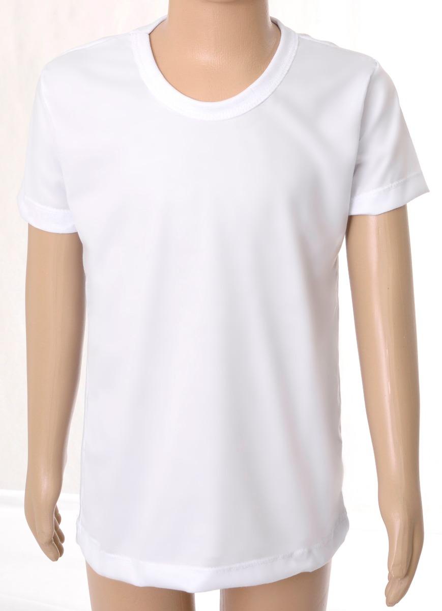 5b4e31e47c 10 Camisetas Infantil Lisa 100% Poliéster Camisa Sublimação - R  59 ...