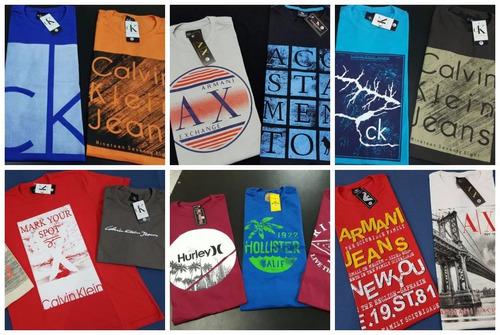 10 camisetas masculina camisas blusas atacado revenda