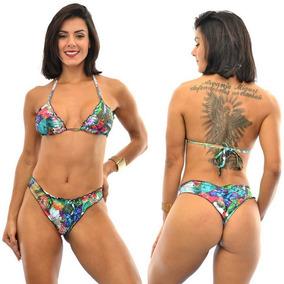 9337e8ca65de Biquini Panicat Biquinis Mulher - Moda Praia com o Melhores Preços no Mercado  Livre Brasil