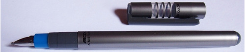 10 caneta tinteiro bico de pena mitsubishi boxy - pfd-20boxy