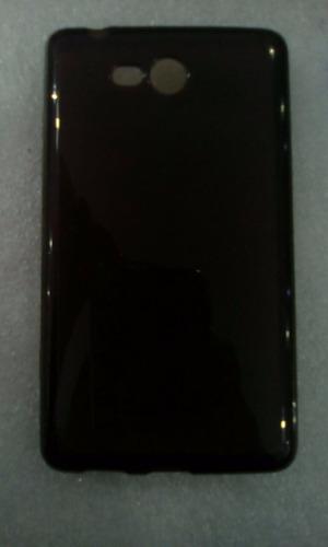 10 capa tpu flexível + película plás celular nokia lumia 820