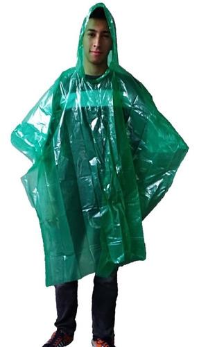 10  capas impermeables para lluvia polietileno para niño