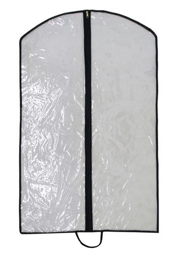 10 capas protetoras para terno e roupas - 100% pvc