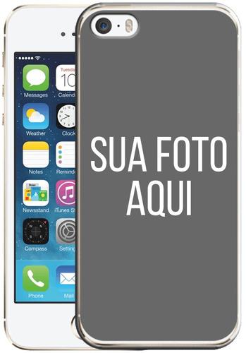 10 capas tpu personalizadas  com a sua foto para iphone 5se
