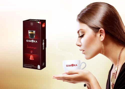 10 cápsulas compatibles nespresso cafe italiano gimoka