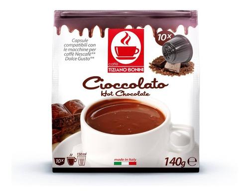 10 cápsulas dolce gusto compatibles - caffe bonini