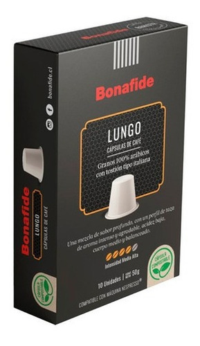 10 cápsulas lungo 100% compostables - compatibles nespresso®