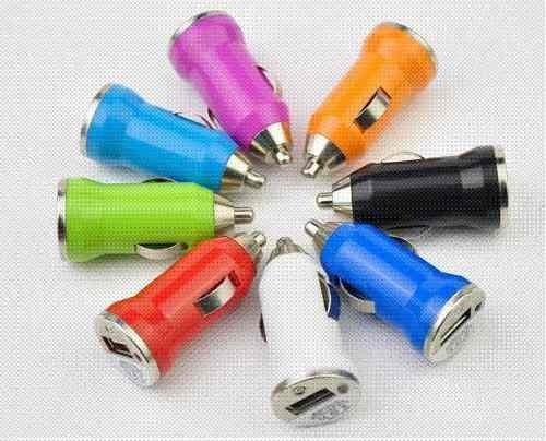10 cargadores usb para automovil iphone, mp3, mp4, celulares