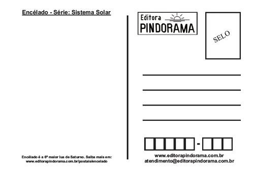 10 cartões postais - astronomia - sistema solar