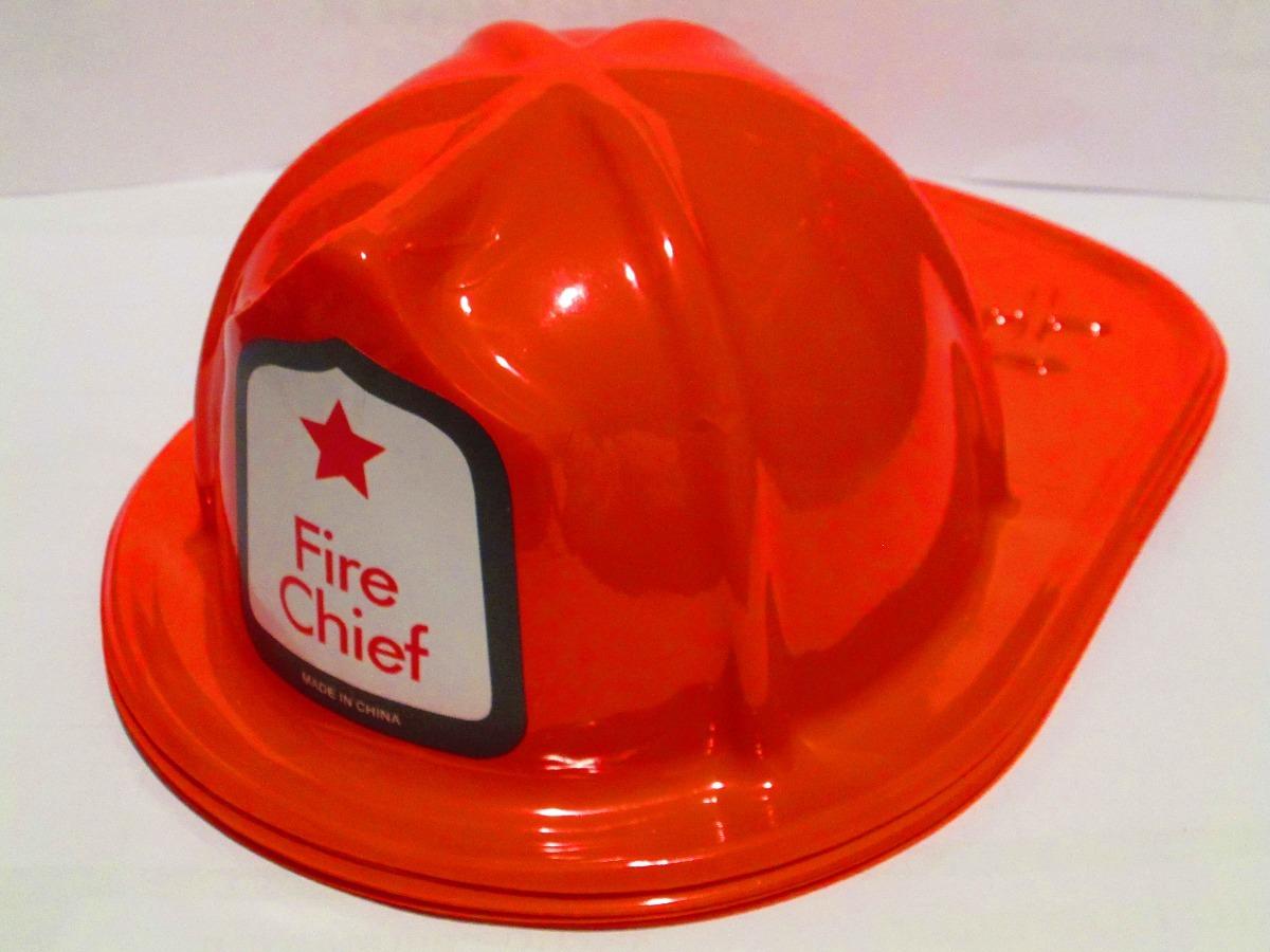 13e6bba0924ab 10 Casco Bombero Rojo Fiesta Batucada Plastico -   199.00 en Mercado ...
