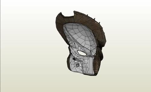 10 cascos de depredador para armar en papercraft