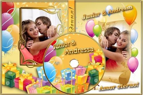 10 cd ou dvd + box + impressão + gravação + capa papel foto