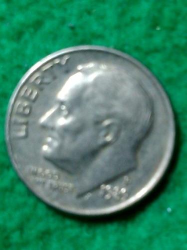 10 cent. dollar. usa. 1989