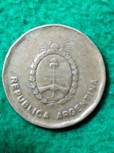 10 centavos austral. argentina. 1987. escudo nacional
