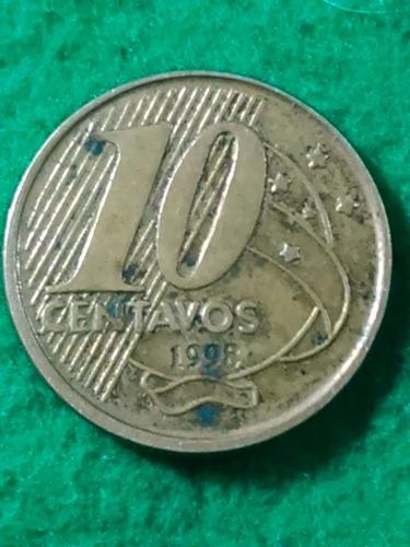 10 centavos. brasil.1998. pedro i