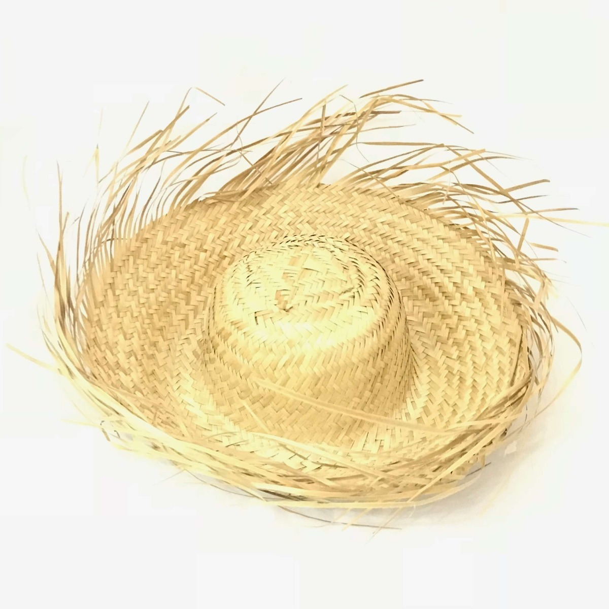 10 chapéus de palha desfiado adulto festa junina caipira. Carregando zoom. 2fd1ebc3330