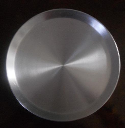 10 charolas de despacho panaderia aluminio reforzado