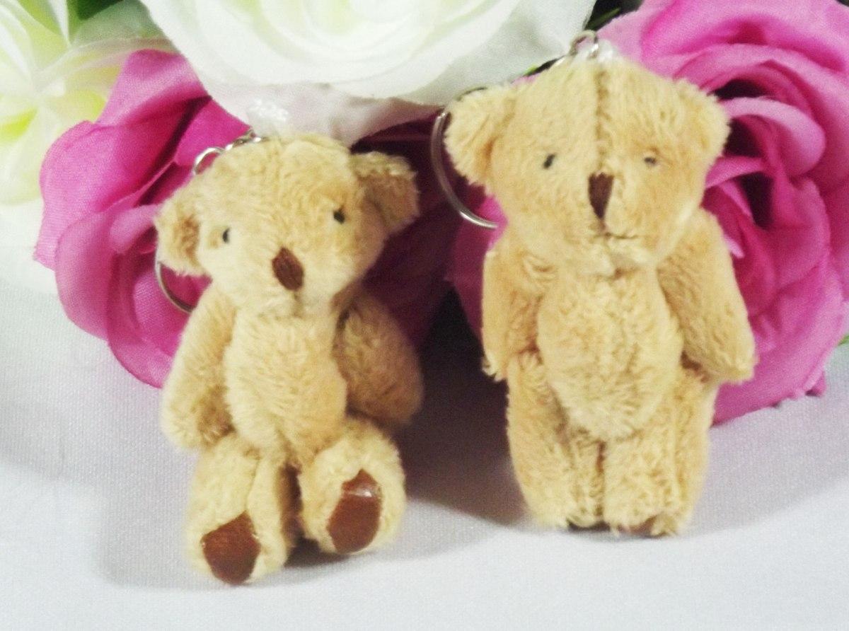 d0b3b189c 10 Chaveiros De Ursinhos - Pelúcia Lembrancinhas Ursos Mini - R  24 ...
