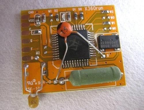 10 chip rgh x360run 1.0 para xbox 360
