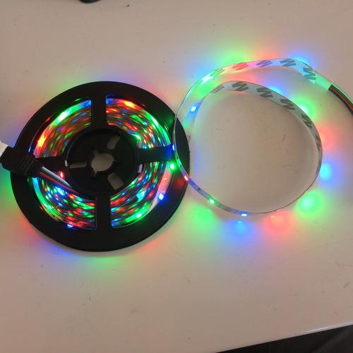 10 cintas led rgb x 5 mts x 270 led's