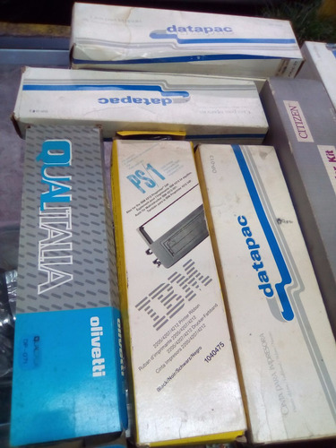 10 cintas para impresora o maquina de escribir varios modelo