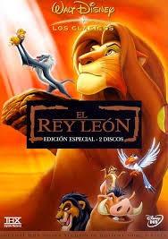 10 clasicos  disney en dvd el rey leon, tarzan envio gratis