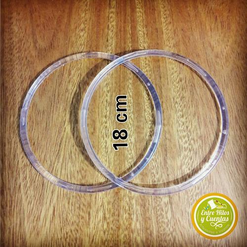 10 cm circulo de acrilico- mandalas atrapasueños artesanias