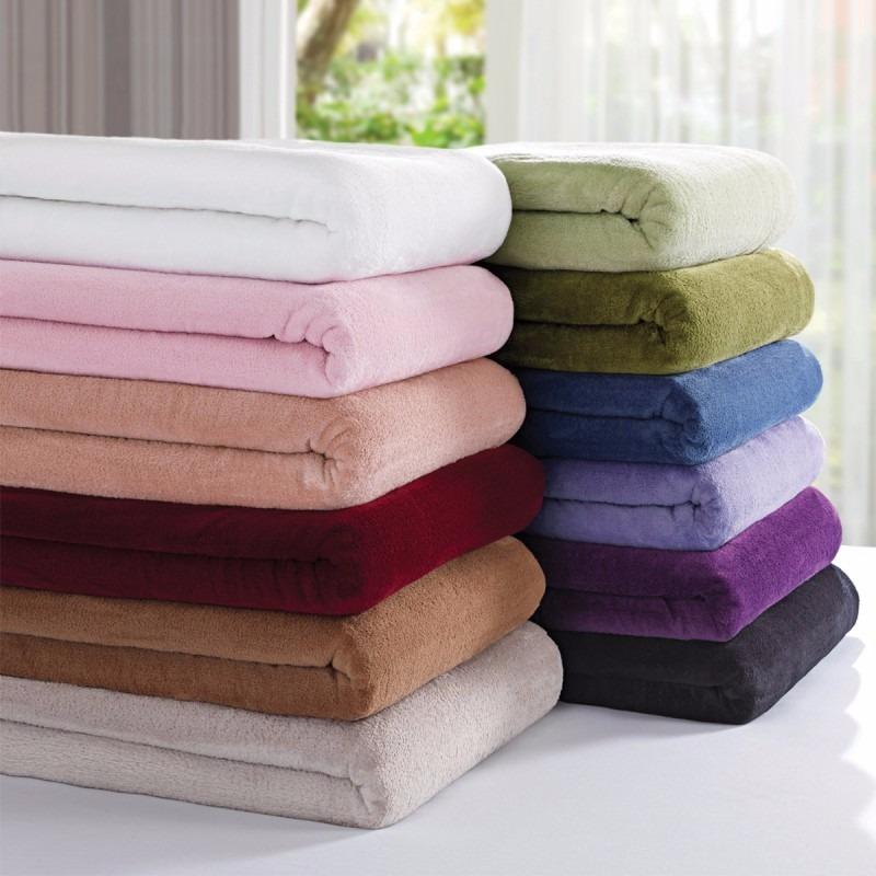 10 cobertor manta microfibra cama solteiro 5 verde 5 - Ikea mantas para camas ...