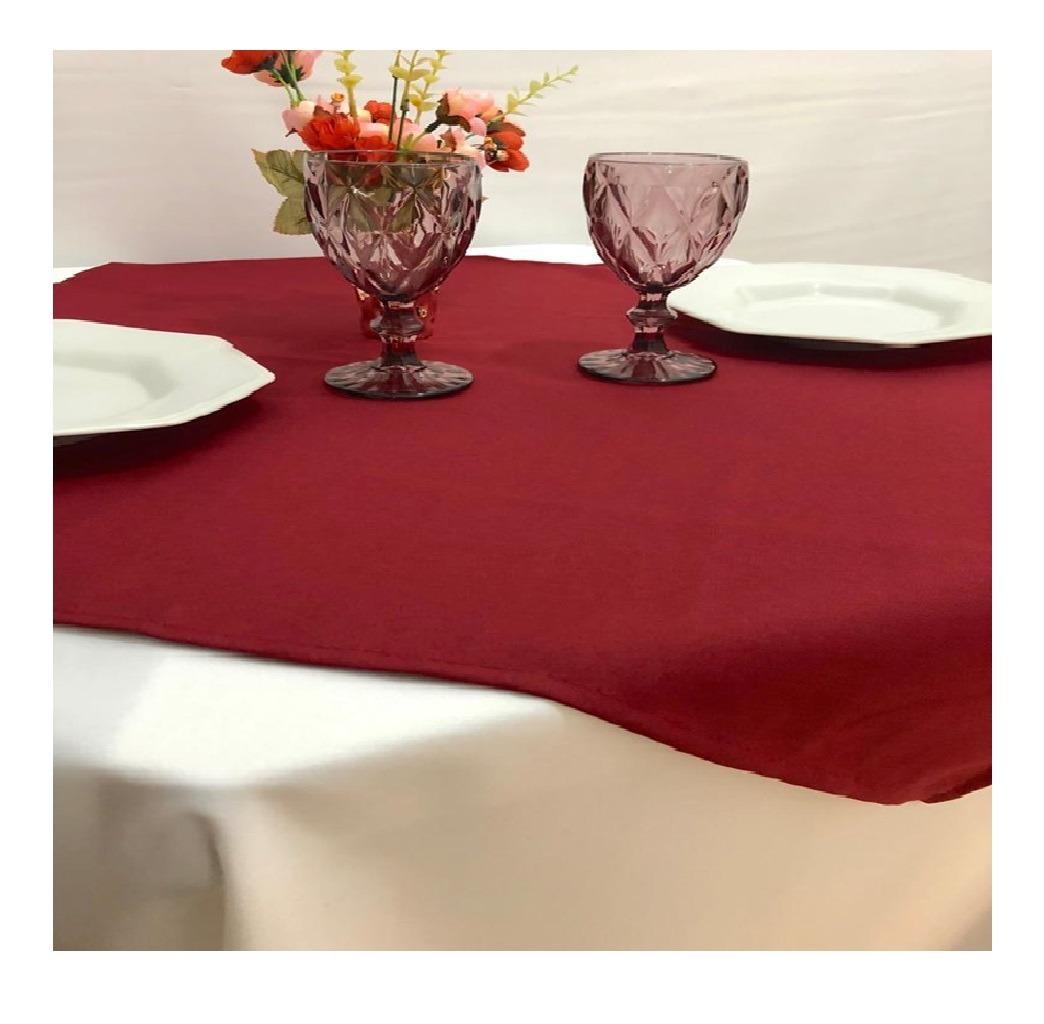 4065328f99a5 10 cobre mancha sobre toalha de mesa 75x75 oxford varias cor. Carregando  zoom.