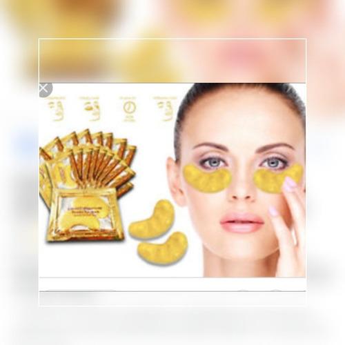 10 colageno ojos 24 k oro gold ojeras bolsas antiarrugas