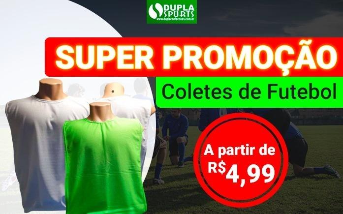 2b0cc08d50959 10 Coletes De Futebol Adulto Com 1 Estampa