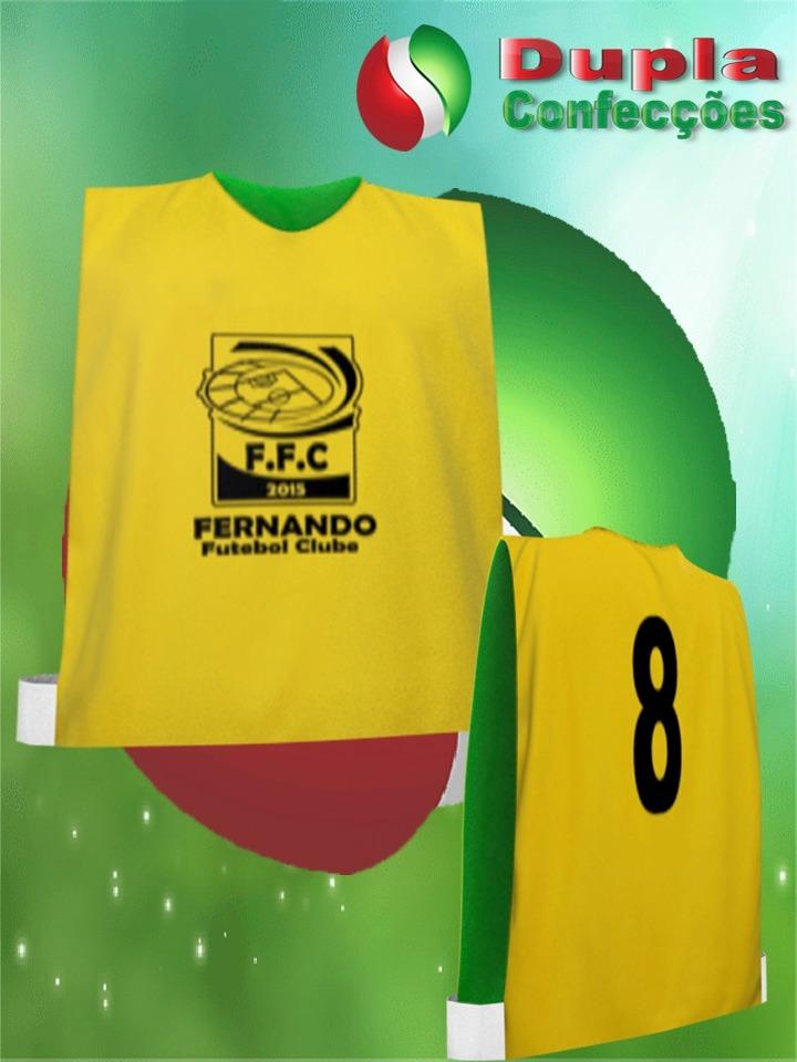 d8e7060205 10 Coletes De Futebol Adulto Com 1 Estampa - R  90