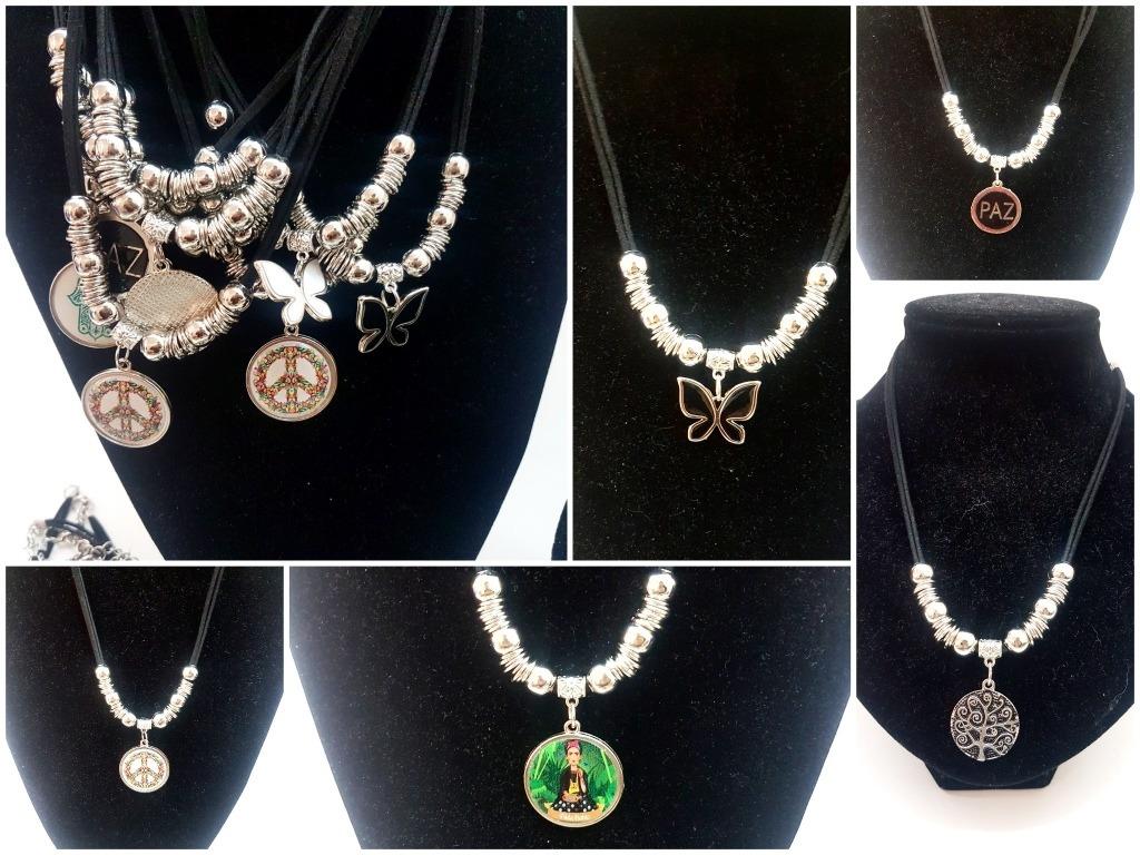 62d395795ecc 10 collares bijou accesorios moda por mayor. Cargando zoom.