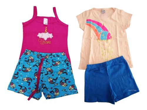 10 conjunto roupa infantil atacado menina modelos sortidos