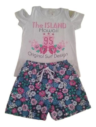 10 conjuntos menina roupa infantil roupas verão 1 ao 14