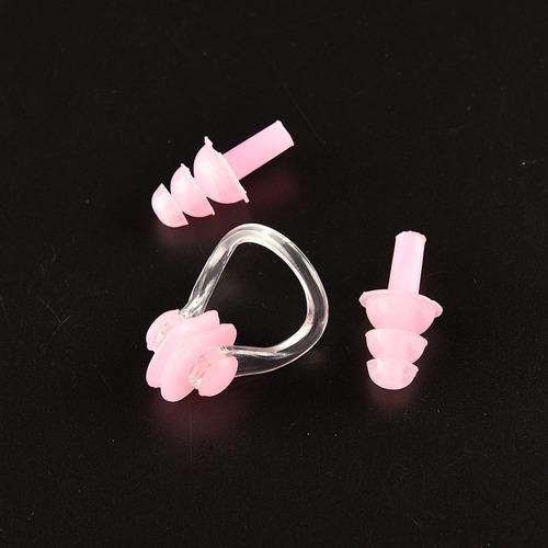 10 conjuntos protector natación oídos y nariz