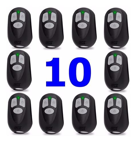 10 controle remoto portão eletrônico rcg seg unisystem ppa