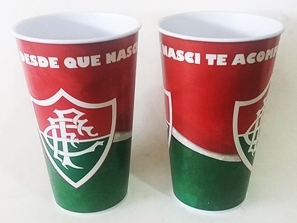 10 Copos Fluminense 550ml - R  40 90ca5d9b73d86