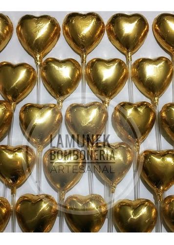10 corazón choco souvenir candy souvenirs día del amigo