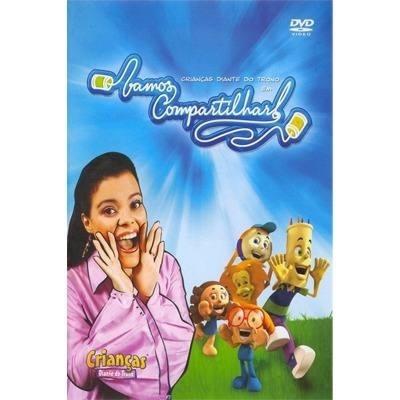 10 crianças diante do trono dvd vamos compartilhar  original