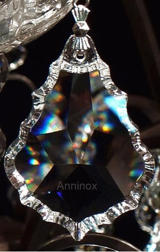 10 cristais asfour placa bacalhau 5,0 cm para lustres