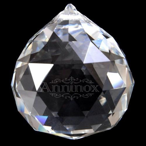 10 cristais esfera 40mm k9 para lustres - melhor preço