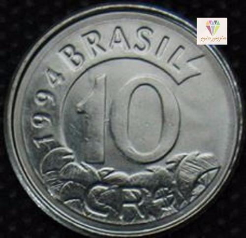 10 cruzeiros de 1993 & 1994 - tamanduá bandeira fc raríssima