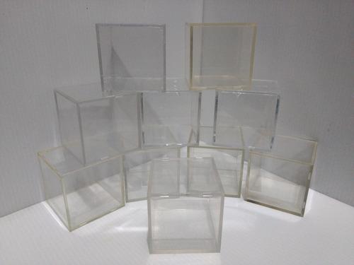 10 cubos protectores de pelota de beisbol