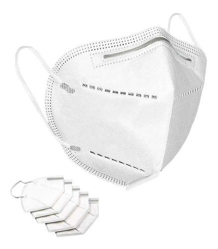 10 cubrebocas quirurgicos mascarilla n95 reutilizable