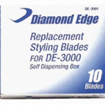 10 cuchillas repuesto diamond edge para de-3000