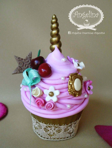 10 cupcakes, cajitas souvenirs! temática de unicornios! 8cm!