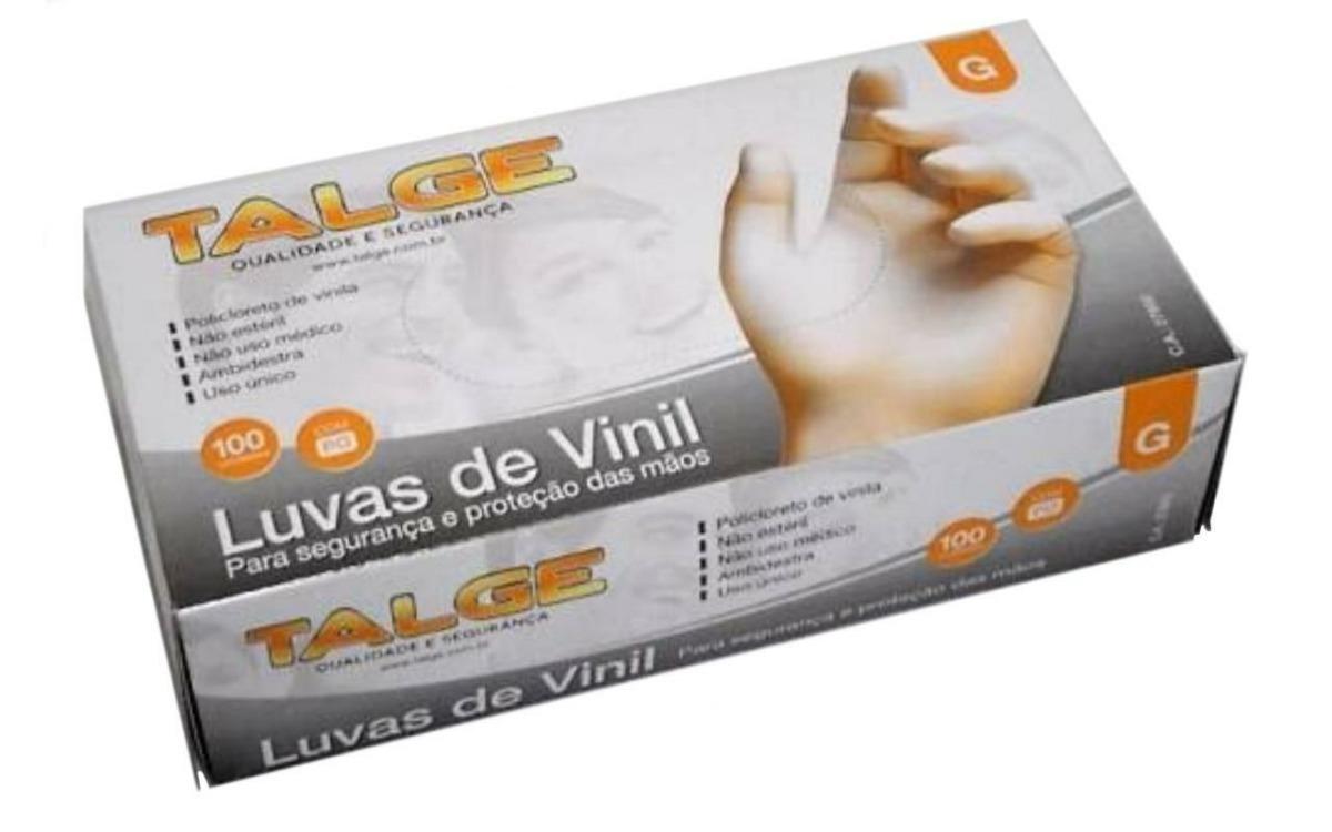 10 Cxs Luva De Procedimento Vinil S  Talco - Talge Tam. P - R  188,00 em  Mercado Livre 424c2571f4